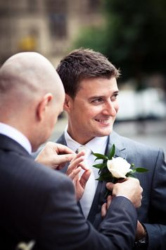 groom and his dad?