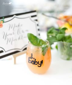 Project Nursery - Mamas & Mocktails Baby Shower by PartiesforPennies.com