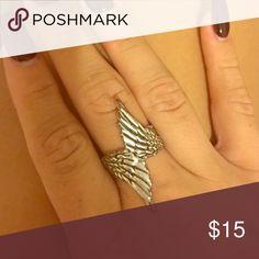 Angel wings ring Angel wings ring Jewelry Rings