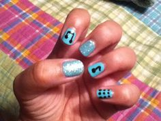 MY Music Nails! Painted by  @Emma Payne(;