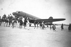 RAF Dakota somewhere in the Sudan 1944/45.  Posted for my father who flew as Wireless Operator in this aircraft and who passed away last week aged 90.