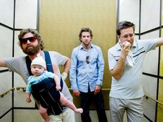 halloween costume idea for group of guys the hangover.