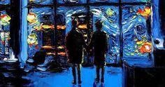 When Club Fight meets Van Gogh - 9GAG