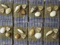 Beach wedding favors 40 bridal shower favors by CountryChicSoaps, $79.50