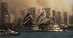 DesignCrowd has imagined what World landmarks would look like after a zombie apocalypse.  Iconic locations targeted included London's Big Ben, The Opera House in Sydney, and The Eiffel Tower, Paris.