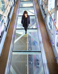 London's iconic Tower Bridge has added a new attraction—a vertigo-inducing glass floor on its west walkway.