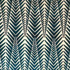 "Neisha Crosland for Clarence House ""Zebra Velvet"" in Silver Blue Geometric Patterns, Textile Patterns, Geometric Fabric, African Textiles, African Fabric, African Patterns, African Prints, Pattern Art, Pattern Design"