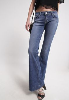J BRAND JEANS 722 LOVE STORY BELL BOTTOM FLARE DENIM in CONNECTED SIZE 26 NEW #JBrand #Flare