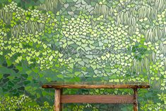 Living Wall glass mosaic | New Ravenna