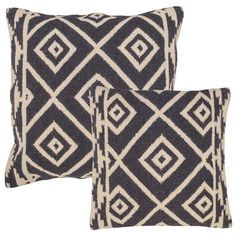 Featured in Style at Home. Geometric wool kilim cushions for a contemporary look.