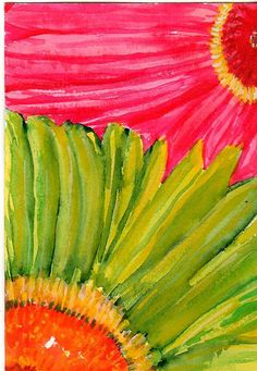 bright colors - another Sharon Foster