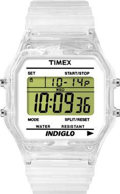 Timex Unisex T2N803 Classic Digital Clear Translucent Case and Strap Watch Timex http://www.amazon.com/dp/B00800ZCDW/ref=cm_sw_r_pi_dp_s6sSvb1CD0WFY