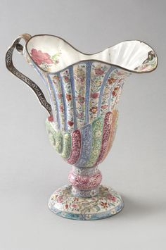 Ewer  Artist/maker unknown, Chinese  Geography: Made in China, Asia Period: Yongzheng Period (1723-1735) Date: 1723-35 Medium: Enamels on copper alloy