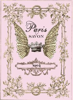 Savon Paris Winged Crown