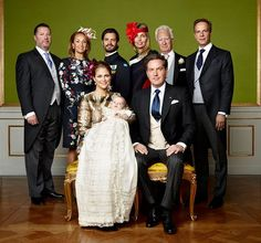 Prince Nicolas of Sweden's christening: First official photos
