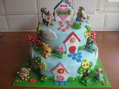 little petshop birthday cake