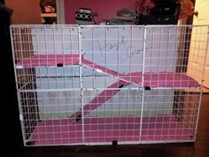 How To Build an Indoor Bunny Cage