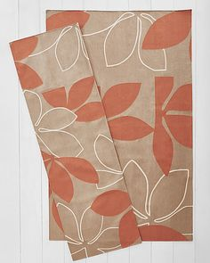 Judy Ross Textiles® Elements Flat-Weave Rug - Fauna