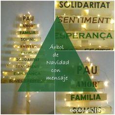 Cómo hacer un árbol de Navidad con madera y buenos propósitos - Contenido seleccionado con la ayuda de http://r4s.to/r4s