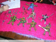 Lot tortue ninja - A vendre à Bruxelles