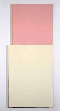 Imi Knoebel, Selfish, 2000. Acrylic on Aluminium. 270 x 116.8 x 4.5 cm