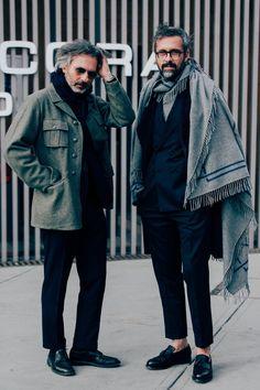 Pitti Uomo 91 Marco Zambaldo & Daniele Biagioli