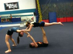 Gymnastics acro acrobatics gym life