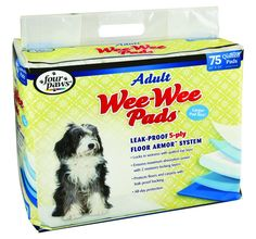 Four Paws Wee-Wee Pads for Adult Dogs ** Read more reviews of the product by visiting the link on the image.