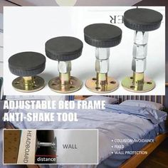 Adjustable Threaded Bed Frame Anti Shake Tool Furniture