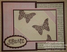 ~ ~ ~Jayne Stamps ~ ~ ~ Joy Fold Card made with Creative Elements. Joy Fold Card, Fancy Fold Cards, Folded Cards, Mulberry Plant, Life Form, Stamping, Embellishments, Card Making, Gallery Wall