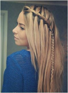 Cute Hairstyles for Long Straight Hair - PoPular Haircuts Casual Hairstyles For Long Hair, Pretty Hairstyles, Girl Hairstyles, Braided Hairstyles, Teenage Hairstyles, Hairstyle Ideas, Latest Hairstyles, Everyday Hairstyles, Holiday Hairstyles