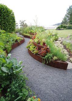 DIY vegetable, herb and flower garden design ideas in 76 amazing images - Modern Design Garden Care, Garden Soil, Edible Garden, Raised Garden Beds, Raised Beds, Flower Garden Design, Vegetable Garden Design, Vegetable Gardening, Gardening Supplies
