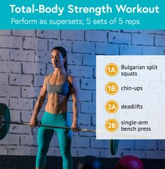 Total-Body Strength Workout