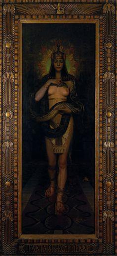 Charles Allen Winter: Fantaisie égyptienne 1898
