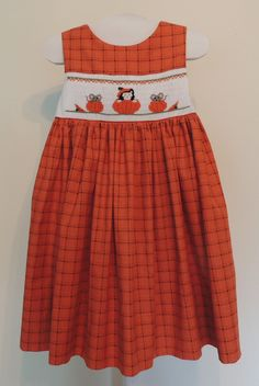 Cross Eyed Cricket Smocking Designs This would be perfect for any fall active.