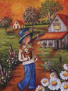 Christine Genest - Fleurs et trouvailles