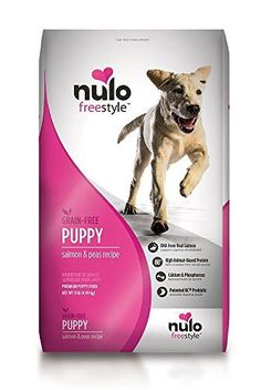 Nulo Puppy Food Grain Free Dry Kibble with BC30 Probiotic and DHA Salmon and Peas Recipe 11lb Bag * Continue to the product at the image link-affiliate link.