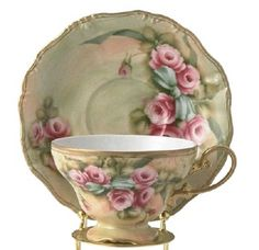 I just love drinking tea from an antique tea cup! Lori