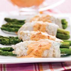 Filets de sole roulés aux asperges - Soupers de semaine - Recettes 5-15 - Recettes express 5/15 - Pratico Pratique