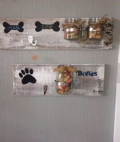 Dog Treat and Leash Holder Plank Dog Crafts, Animal Crafts, Yorkies, Dog Leash Holder, Dog Rooms, Dog Signs, Animal Projects, Diy Stuffed Animals, Pet Gifts
