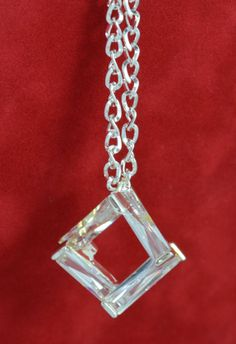 "20"" Geometric Cubic Zirconia Necklace on Etsy, $32.00"
