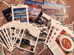 My first order for Postcrossing. So excited!