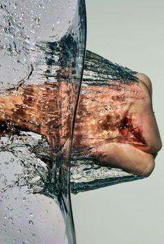 Slow shutter speed water photography