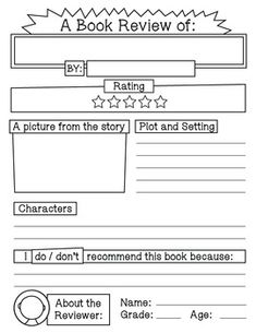 book report short story in english