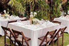 Reception at Casa de Monte Vista