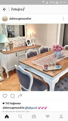 Country Furniture, Home Decor Furniture, Dining Furniture, Living Room Designs, Living Room Decor, Bedroom Decor, Laura Ashley Living Room, Happy House, Shabby Chic Kitchen