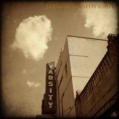 Austin Texas Varsity Theatre Vintage Movie Fine by 3LPhotography