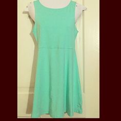 Host PickPINK VS Mint Green Top/Mini. NWT Best in Tops! HPPINK Victoria's Secret Mint Green Top or Cute Mini with peek hole cutout back. Size Small. Brand New! Just purchased. NWT. Really pretty, looks great dressed up or down. Casual trendy with super soft comfort. PINK Victoria's Secret Tops