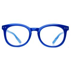Into the BLUE. Horn rimmed wayfarer style. 48mm.