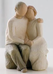 Anniversary Figurine. I like this - it makes me think of those who have been in love for ages - lovely. Bron :)